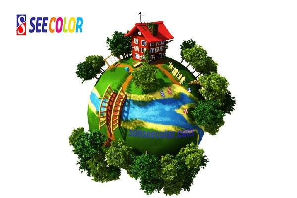 Sơn an toàn thân thiện môi trường cho cuộc sống xanh