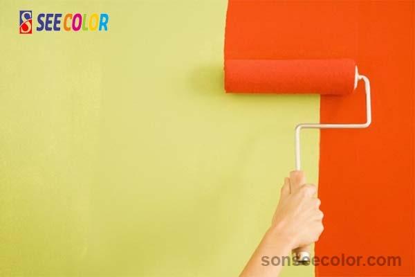Sơn màu và sơn chống thấm màu khác nhau như thế nào
