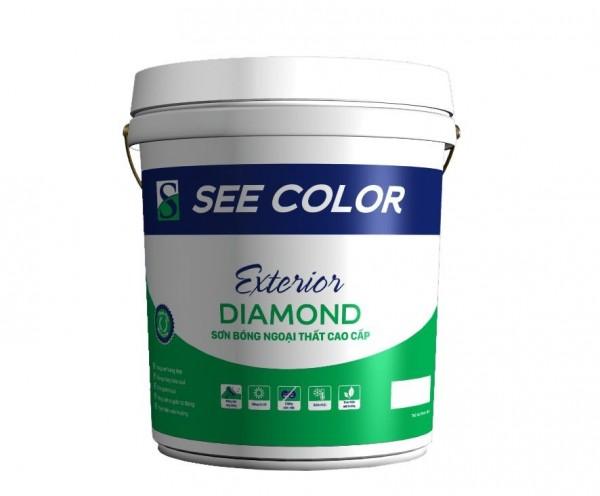 SƠN BÓNG NGOẠI THẤT DIAMOND